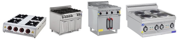 Electric or Gas Stoves